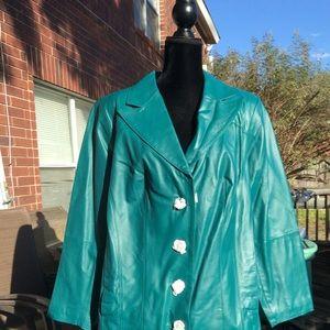 Brand New! Genuine Leather Coat